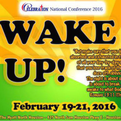 2016 Conference Wake Up
